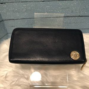 Vince Camuto Navy Blue Leather Wallet